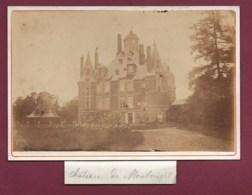 110320 - PHOTO ANCIENNE - 51 Château De MONTMORT - Montmort Lucy