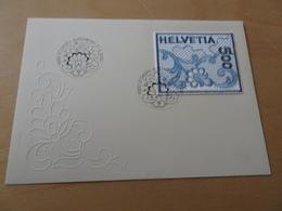 Schweiz Michel 1726 Stickereimarke FDC (13694) - FDC