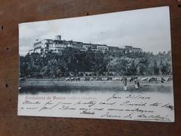 Cartolina Postale, Postcard 1900, Alrededores De Mexico, Castillo De Chapultepec - Messico
