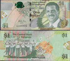 Bahamas Pick-Nr: 71Aa Bankfrisch 2015 1 Dollar - Bahamas