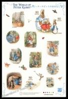 Japan - Japon 2011 Yvert 5379-78, Children. World Peter Rabbit, Beatrix Potter, Animal Illustrations - Sheetlet - MNH - 1989-... Keizer Akihito (Heisei-tijdperk)