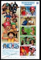Japan - Japon 2011 Yvert 5389-98, Animation Film. Anime, One Piece Characters - Sheetlet - MNH - 1989-... Keizer Akihito (Heisei-tijdperk)