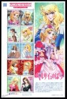 Japan - Japon 2011 Yvert 5445-54, Animation Film. Anime, Lady Oscar/Rose Of Versailles Characters - Sheetlet - MNH - 1989-... Keizer Akihito (Heisei-tijdperk)