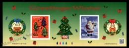 Japan - Japon 2011 Yvert 5616-20, Christmas. Wreaths, Christmas Tree & Santa Claus - Sheetlet - MNH - 1989-... Keizer Akihito (Heisei-tijdperk)