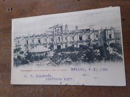 Cartolina Postale, Postcard 1900, Mexico, Guadalajara, Palacio Municipal Y Plaza De Armas - Mexico