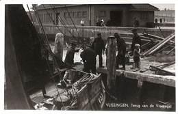 Vlissingen - Terug Van De Visvangst (animatie 1953) - Vlissingen