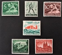 1939 Tag Der Arbeit Mi.745*),Zeitungsmarken 738-739*), Gebiete Von Eupen,Malmedy,Meresnet 748-749*),Helgoland 748*) - Deutschland