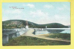 * Gileppe (Liège - Luik - La Wallonie) * (Dr. Trenkler Co, Gil 13) La Gileppe, Sur Le Pont Du Barrage, Stuwdam, Lion - Gileppe (Barrage)
