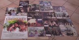 AFFICHE CINEMA ORIGINALE FILM LOUISIANE + 16 PHOTOS EXPLOITATION DE BROCA KIDDER CHARLESON 1984 TBE THOS - Manifesti & Poster