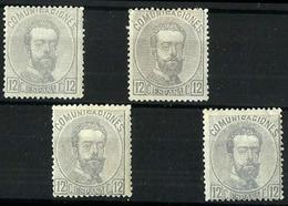España Nº 122 Nuevos. Cat.92€ - Unused Stamps