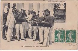 81 : CASTRES : Artillerie : Le Vaguemestre - Y A-t-il Un Mandat ? - Caserme