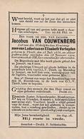Thielt, Tielt, 1902, Jacobus Van Auwenberg, Verheyden - Devotion Images