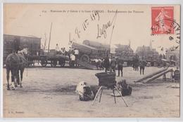 ARRAS - Exercices Du 3e Génie à La Gare - Embarquement Des Voitures Militaires - Arras