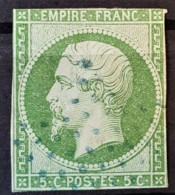 FRANCE 1854 - YT 12a - 5c - 1853-1860 Napoleon III