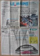 24 H Du Mans 1982.Jacky Ickx En Course. - Desde 1950