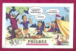 BUVARD..PHILBEE Le Bon Pain D'Epices De Dijon..SCOUT, SCOUTISME, - Pain D'épices