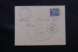 FRANCE - Enveloppe De Gex Pour Gex En 1899, Affranchissement Sage 15ct - L 55708 - Poststempel (Briefe)