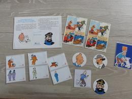 Tintin Lot D'autocollants Pub Et + - Hergé