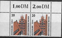 2001 Allem. Fed. Deutschland  Mi.2224 **MNH Sehenswürdigkeiten :  Böttcherstraße, Bremen - [7] République Fédérale