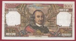 """100 Francs """"Corneille"""" Du 02/04/1964.C ---TTB--ALPH .J.3 - 1962-1997 ''Francs''"""