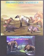 Liberia 2005**Mi.5041-44 + Bl.514 , Dinosaurs  , MNH [8;15/6;102] - Vor- U. Frühgeschichte