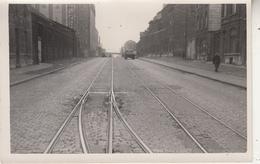 Rte 22 Charleroi-Mons - Pavage à Dampremy - 1948 - Photo 10 X 15 Cm - Lieux