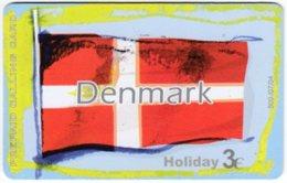GREECE F-788 Prepaid Amimex - Flag Of Denmark - Used - Griechenland