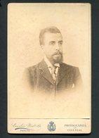 Fotografia CONDE De CAMPO BELO (Vila Nova De Gaia) Diogo Paiva Tavora Cernache. Photographia EMILIO BIEL Porto PORTUGAL - Ancianas (antes De 1900)