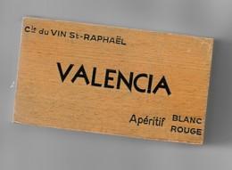 BOITIER RANGEMENT CARTES A JOUER CIE VINS ST RAPHAEL - Other Collections