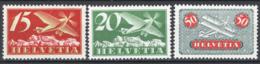 Svizzera 1923 Unif. A3,A4a,A9a **/MNH VF - Posta Aerea