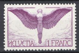 Svizzera 1924 Unif. A12a */MH VF - Posta Aerea