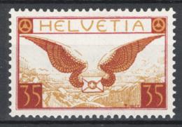 Svizzera 1929 Unif. A13a */MH VF - Posta Aerea