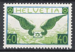Svizzera 1929 Unif. A14a */MH VF - Posta Aerea