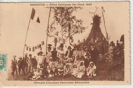 CPA Brancion Fete Celtique Des Feux 1926 - Otros Municipios