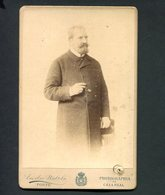 Fotografia Nao Identificada. Photographia Caza Real EMILIO BIEL. Old Cabinet Photo Porto PORTUGAL - Ancianas (antes De 1900)