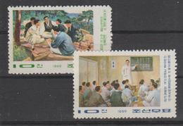 North Korea  Michel 918/19 Mnh 1969. - Korea (Noord)