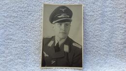Foto Portrait Offizier Luftwaffe Militär - 1939-45