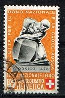 Schweiz 1940,Michel# 365, 374 O - Usados