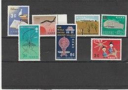 RYU-KYU TIMBRES **LUXE N° 85 86 87/88 90/91 92 COTE 15.60 EUROS - Ryukyu Islands
