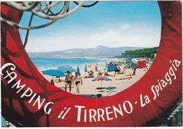 VADA - LIVORNO - CAMPING IL TIRRENO - VIAGG. 1969 -69895- - Livorno