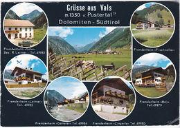 VALLES - VALS - RIO PUSTERIA - MUEHLBACH - BOLZANO - VEDUTINE - VIAGG. -74687- - Bolzano (Bozen)