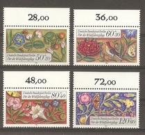 Allemagne Berlin 1985 - Motifs Décoratifs - Enluminures - Livre D'heures Du Moyen-âge - Série Complète MNH - BDF - 704/7 - Francobolli