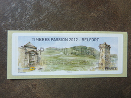 2012 LISA2  BELFORT  LETTRE PRIORITAIRE  INTERNATIONALE  0,77€ (vendue à La Faciale) ** MNH - 2010-... Illustrated Franking Labels
