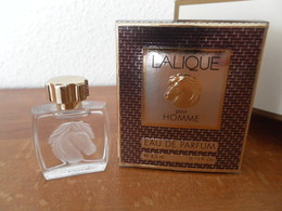 ACHAT IMMEDIAT;;;;MINIATURE LE CHEVAL DE LALIQUE 4,5 ML EAU DE PARFUM - Miniatures Men's Fragrances (in Box)