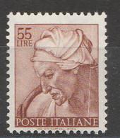 PIA - ITALIA VARIETA' : 1961 : Michelangiolesca - (SAS 908/I - CARRARO 505) - 1946-.. République