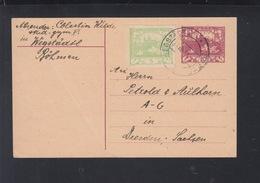 CSR GSK Mit ZuF 1919 Wegstädtl Nach Dresden - Czechoslovakia