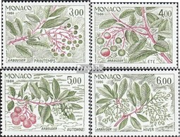 Monaco Mi.-Nr.: 1782-1785 (kompl.Ausg.) Postfrisch 1986 Die Vier Jahreszeiten - Nuovi