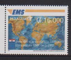 Paraguay (2019) - Set -  /  EMS - Joint Issue - Emissions Communes