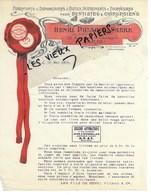 75 - Paris - PARIS - Facture PICARD - Fabrique D'outils, Instruments, Fournitures Pr Chirurgiens Denti - 1909 - REF 135C - France