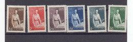 Finlande 1941 Yvert 234 / 239 ** Neufs Sans Charniere. Marechal Mannerheim. (2201t) - Finland